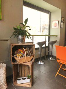 intérieur du restaurant délicat&zen à Brive
