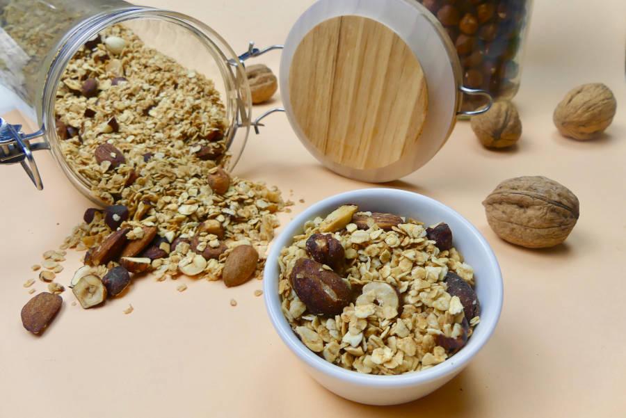 granola-sans-gluten-amandes-noisettes